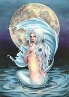 Moon Mermaid by SelinaFenech