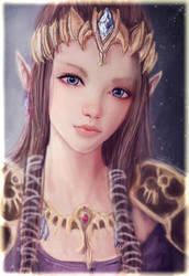 Princess Zelda by S1ghtly