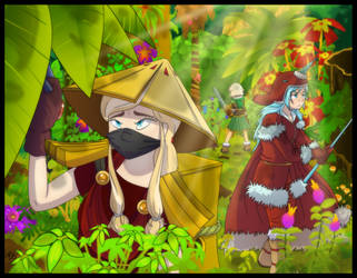 Entangled Jungle by 14Dreamer