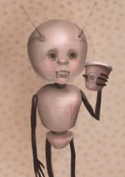 Coffee Robot by Coffeejuice