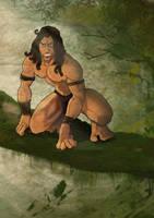 Tarzan by xninthwolfiex