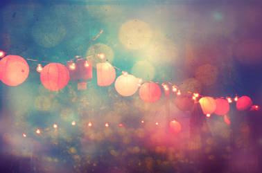 Red Lanterns by EmiNguyen
