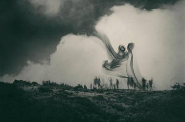 Self and Nature, releasing my worries III by EmiNguyen