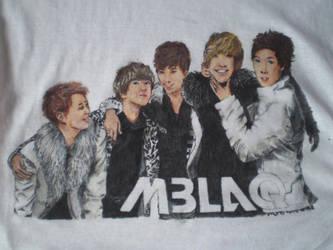 MBLAQ: tee by staresinka