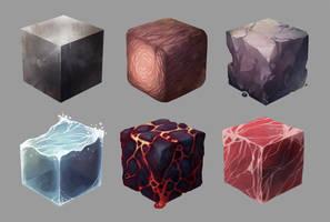 Texture studies by BrotherShiro
