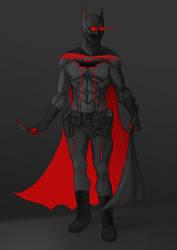 Futuristic Batman by awolfillustrations