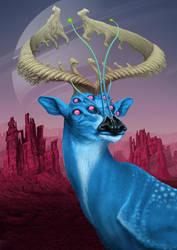 Blue Belly Deer of Kelper-425b Updated by awolfillustrations