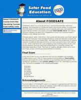 Safer Food Education by Hai-Etlik
