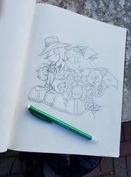 Three Amigos by RemyCooper