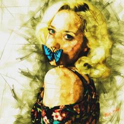 Butterfly by Black-Ketch