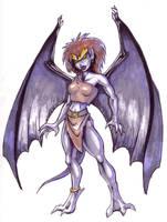 Disney's Gargoyles - Demona by rleeny