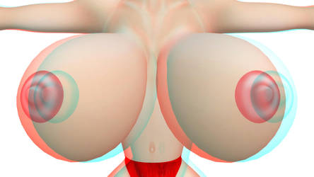 3D red n blue,boob test 2 by misterprickly