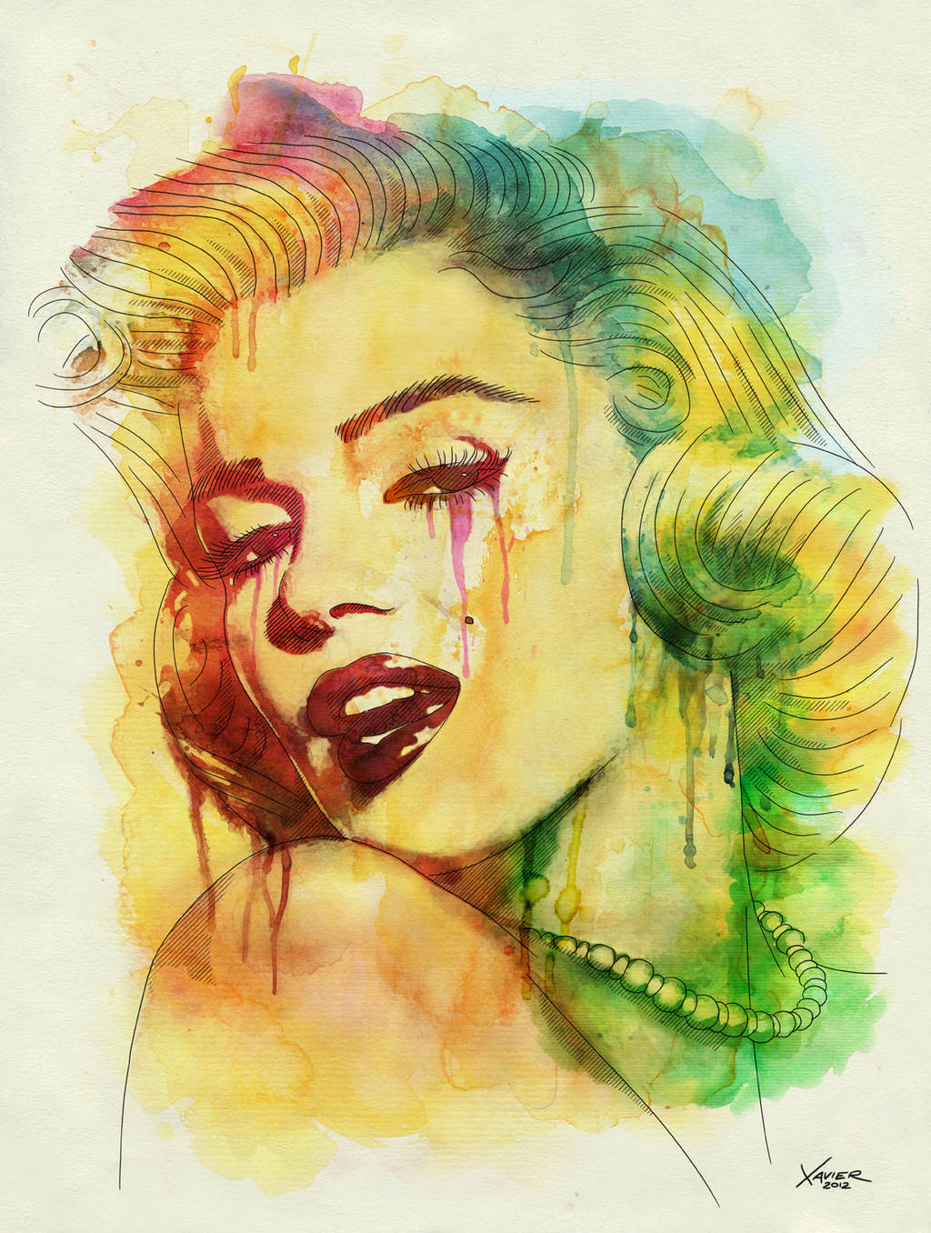 Marilyn Monroe by chrisxavier