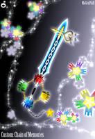 C. Keyblade Chain of Memories by Marduk-Kurios