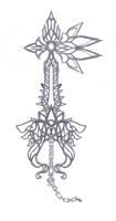 Concept Keyblade FINAL FANTASY by Marduk-Kurios