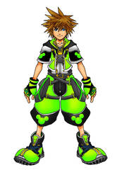 Kingdom Hearts 2 Magestic Form by Marduk-Kurios