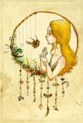 Joanna Newsom by LadyLotte