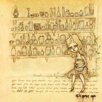 Tears in Jars -collab by LadyLotte