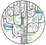 Happy tree by Davanyta