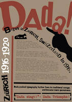DADA Typographical Poster by StolenStars