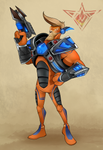 CMS: Ace Hardlight (Ratchet Deadlocked) by Danny-Jay