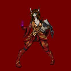 Asriya Summerfall by Red-Dragonspawn