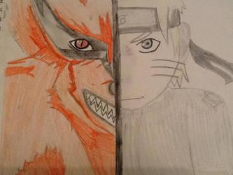Naruto Vs Kurama by CanadaFan08