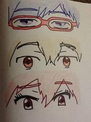 Rei, Nagisa and Gou by CanadaFan08