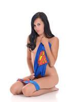 Little Ashley superman underoos by Badassphotoguy