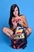 Little Ashley Eagles fan by Badassphotoguy