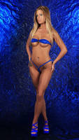 Ashton Hazlette blue by Badassphotoguy