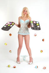 Janel Evans cupcakes by Badassphotoguy