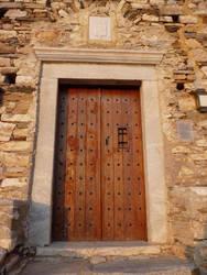 Old Door Stock 2 by Cloozy