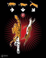 Tiger Uppercut by dehahs