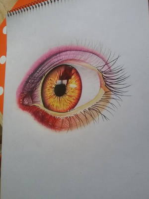 Burned Eye by Danihl