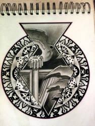 Tattoo Mandala Design by Danihl