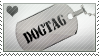 DOGTAG Necklace Stamp by porcuMoose