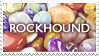 ROCKHOUND stamp by porcuMoose
