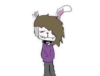 Bunny boi by UselessEdgyClown