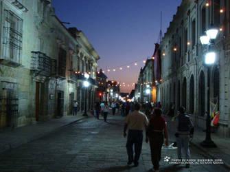 Oaxaca Streets by SimbaSpirit