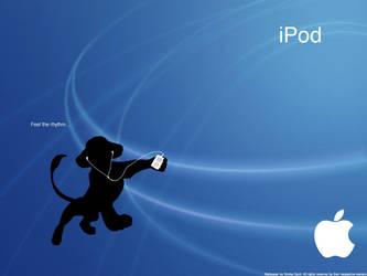 Apple - Ipod and simba by SimbaSpirit