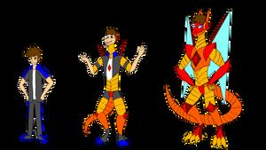 HeroDragobot TF by red-dragon-x7