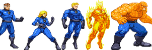 Fantastic Four by Riklaionel