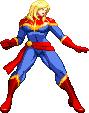 Marvel vs Capcom Infinite: Captain Marvel by Riklaionel