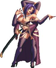 Lady Onikumo KOFXIII style by Riklaionel