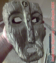 The Mask of Loki 1:1 Design From The Mask 1994 by Giguruzugi