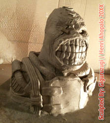 Nemesis T-Tyrant Mini Bust from Resident Evil 3 99 by Giguruzugi