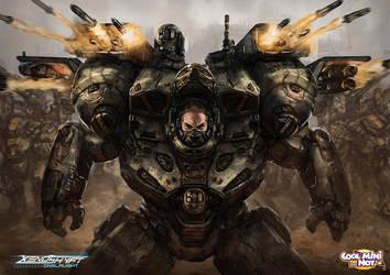 Xenoshyft Hyperion Hero by BrotherOstavia