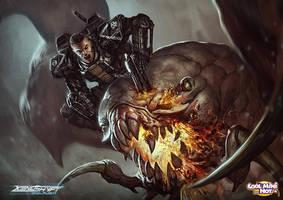 Xenoshyft Ajax Hero by BrotherOstavia