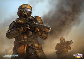 Xenoshyft Ranger by BrotherOstavia